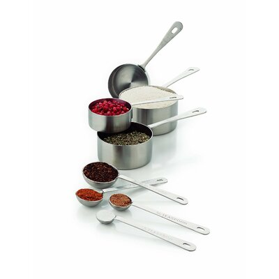 8 Piece Stainless Steel Measuring Spoon Set 8343