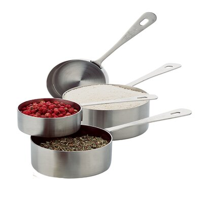 4-Piece Stainless Steel Measuring Cup Set 864