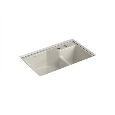 Kohler Karbon Chrome Deck Mount Articulating Kitchen Faucet