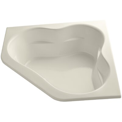 Tercet 60 x 60 Whirlpool Bathtub Finish: Almond