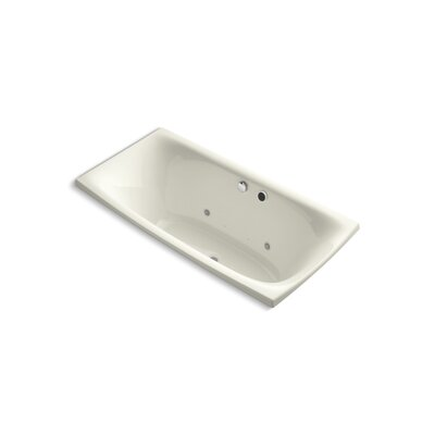 Escale 72 x 36 Air Bathtub Finish: Biscuit