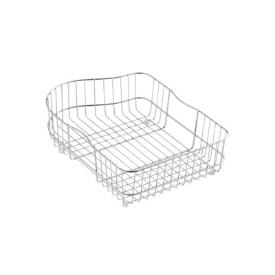 Hartland Sink Basket Finish: Stainless Steel, Bowl Location: Right