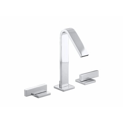 Loure Widespread Bathroom Sink Faucet Finish: Polished Chrome