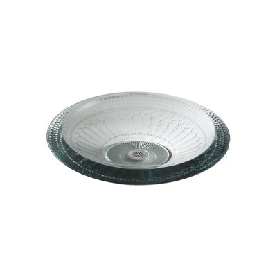 Pallene Glass Above-Counter Circular Vessel Bathroom Sink