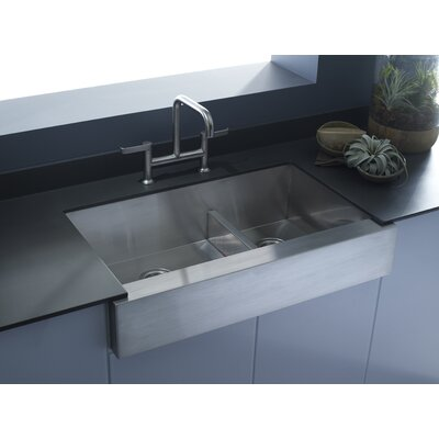 Vault 35.5 x 21.25 Farmhouse/Apron Kitchen Sink