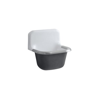 Bannon 22.25 x 18.25 Service Kitchen Sink with Rim Guard
