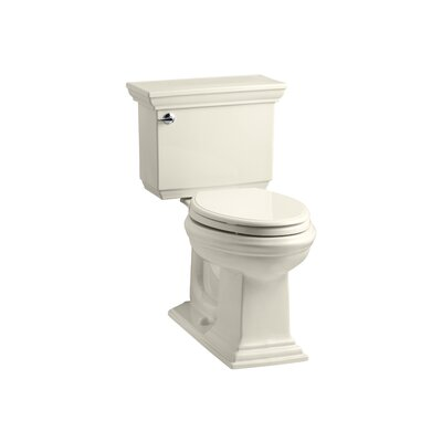 Memoirs Stately Comfort Height Two-Piece Elongated 1.6 GPF Toilet with Aquapiston Flush Technology and Left-Hand Trip Lever Finish: Almond