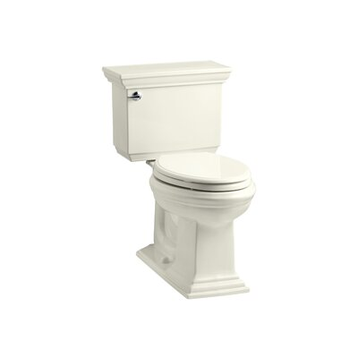 Memoirs Stately Comfort Height Two-Piece Elongated 1.6 GPF Toilet with Aquapiston Flush Technology and Left-Hand Trip Lever Finish: Biscuit