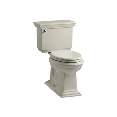Memoirs Stately Comfort Height Two-Piece Elongated 1.6 GPF Toilet with Aquapiston Flush Technology and Left-Hand Trip Lever Finish: Sandbar