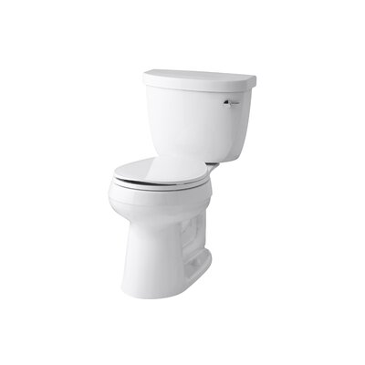 Cimarron Comfort Height 1.28 GPF Round Two-Piece Toilet Finish: White