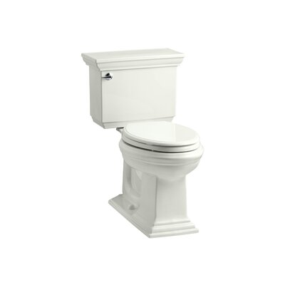Memoirs Stately Stately Comfort Height 1.28 GPF Elongated Two-Piece Toilet Finish: Dune
