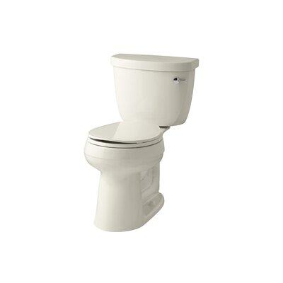 Cimarron Comfort Height 1.28 GPF Round Two-Piece Toilet Finish: Almond