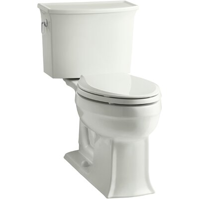 Archer 2 Piece Elongated Toilet with Aquapiston Flush Technology Finish: Dune