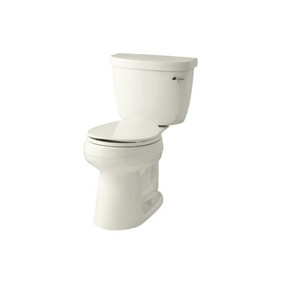 Cimarron Comfort Height 1.28 GPF Round Two-Piece Toilet Finish: Biscuit