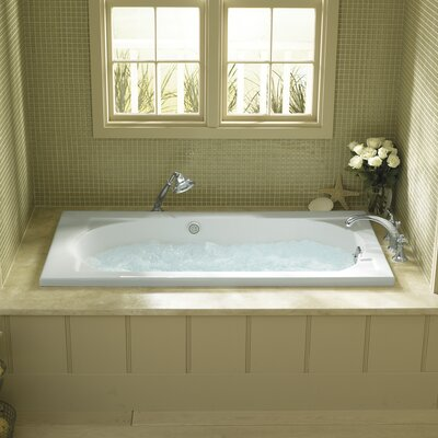 Devonshire Alcove 60 x 32 Soaking Bathtub Finish: White