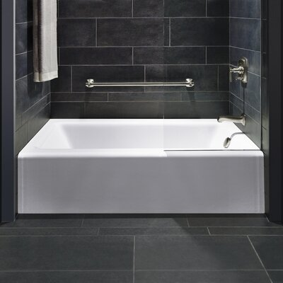 Bellwether 60 x 32 Soaking Bathtub Finish: White