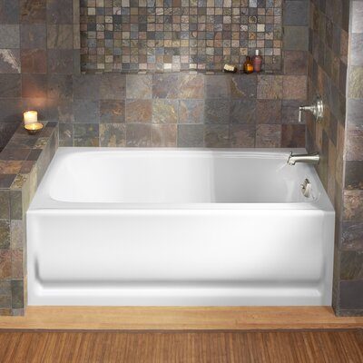 Bancroft 60 x 32 Soaking Bathtub Finish: White