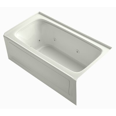 Bancroft 60 x 32 Whirlpool Bathtub Finish: Dune