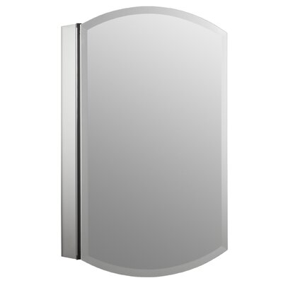 Archer 20 x 31 Aluminum Wall Mount Medicine Cabinet with Mirrored Door