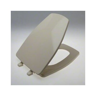 Rochelle Toilet Seat Finish: Almond