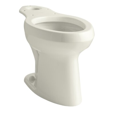 Highline Toilet Bowl with Pressure Lite Flushing Technology Finish: Biscuit