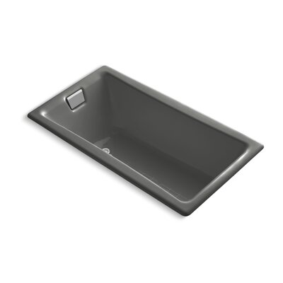 Tea for Two 60 x 32 Soaking Bathtub Finish: Thunder Grey