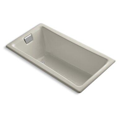 Tea for Two 60 x 32 Soaking Bathtub Finish: Sandbar