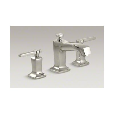 Margaux Widespread Bathroom Sink Faucet with Lever Handles Finish: Vibrant Polished Nickel