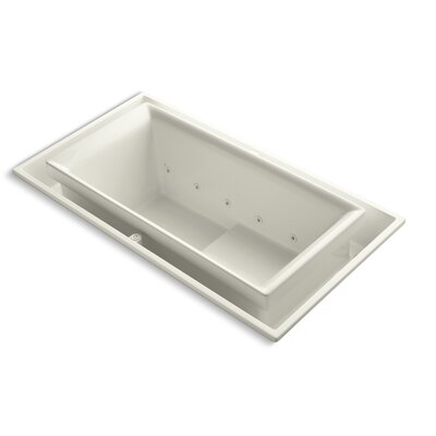 Sok 75 x 41 Air / Whirlpool Bathtub Finish: Biscuit