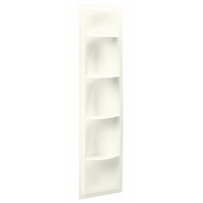 Echelon 17.38 W x 61.88 H Shelving Finish: Biscuit