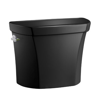 Wellworth Dual-Flush Tank Finish: Black Black