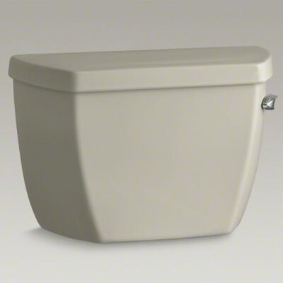 Highline Classic 1.0 GPF Toilet Tank with Tank Cover Locks and Right-Hand Trip Lever Finish: Sandbar