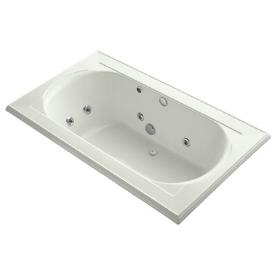 Memoirs 72 x 42 Whirlpool Bathtub Finish: Dune