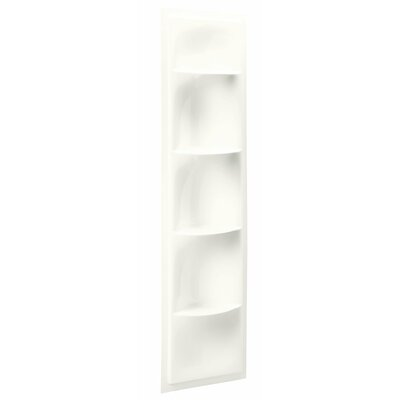 Echelon 17.38 W x 61.88 H Shelving Finish: White