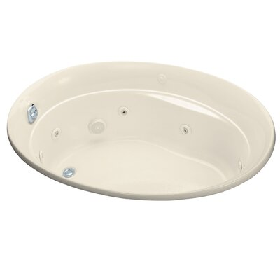 Serif 60 x 43 Whirlpool Bathtub Finish: Almond