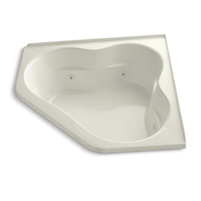 Tercet 60 x 60 Whirlpool Bathtub Finish: Biscuit