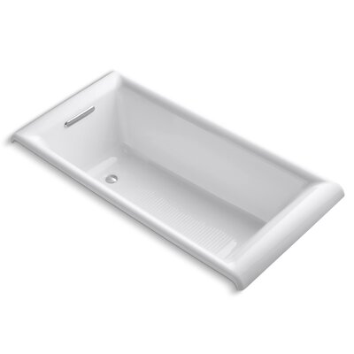 Undermount 66 x 33 Soaking Bathtub Finish: White