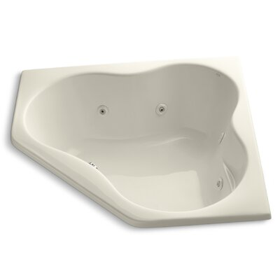 Proflex 54 x 54 Whirlpool Bathtub Finish: Almond