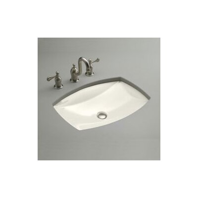 Kelston Rectangular Undermount Bathroom Sink Sink Finish: Biscuit