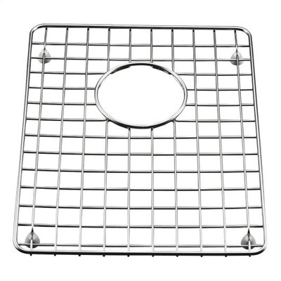 Clarity Stainless Steel Left-Hand Side Sink Rack, 14-1/4 x 10-7/8
