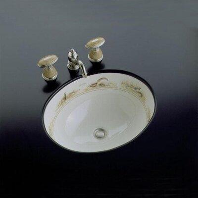 Kohler Pheasant Design on Caxton Undercounter Bathroom Sink - Buy ...