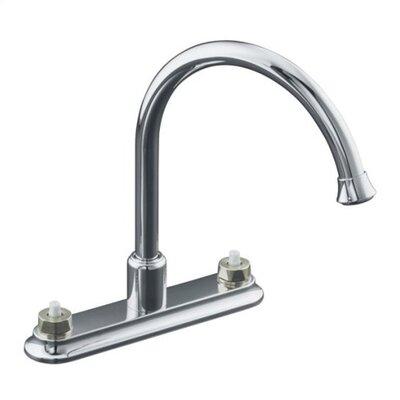 Kohler  Sinks on Kohler Coralais Decorator Two Handle Centerset Bar Kitchen Sink Faucet