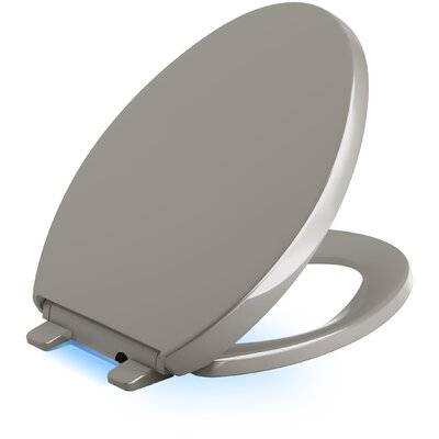 Reveal Nightlight Quiet-Close with Grip-Tight Elongated Toilet Seat Finish: Cashmere