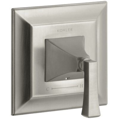 Memoirs Stately Valve Trim with Deco Lever Handle for Thermostatic Valve Finish: Vibrant Brushed Nickel