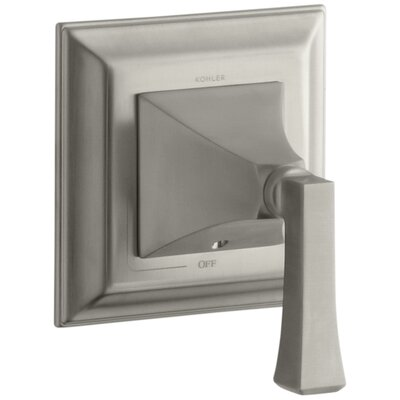 Memoirs Stately Valve Trim with Deco Lever Handle for Volume Control Valve Finish: Vibrant Brushed Nickel