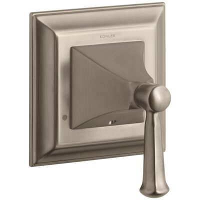 Memoirs Stately Valve Trim with Lever Handle for Transfer Valve Finish: Vibrant Brushed Bronze
