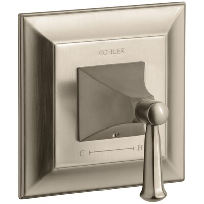 Memoirs Stately Valve Trim with Lever Handle for Thermostatic Valve Finish: Vibrant Brushed Bronze
