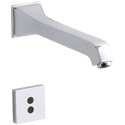 Memoirs Wall-Mount Commercial Bathroom Sink Faucet with 8-3/16 Spout and Insight Technology Finish: Polished Chrome