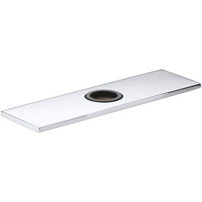 Optional Escutcheon Square Plate for Insight Faucet Finish: Polished Chrome