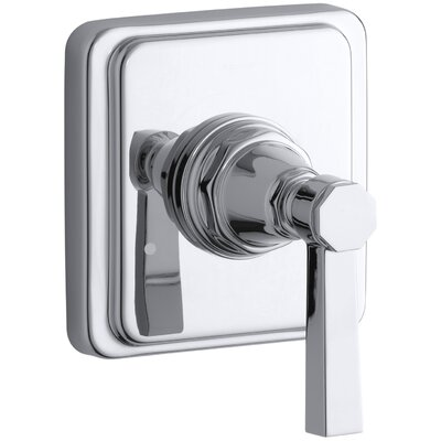 Pinstripe Valve Trim with Pure Design Lever Handle for Transfer Valve, Requires Valve Finish: Polished Chrome